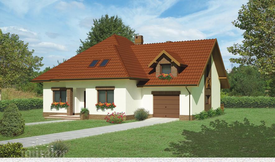 C232 Dom nad potokiem